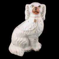Pair of Victorian Staffordshire Dogs (2 of 7)