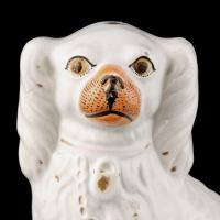 Pair of Victorian Staffordshire Dogs (5 of 7)