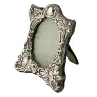 Small Victorian Sterling Silver Frame (2 of 8)