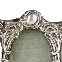 Small Victorian Sterling Silver Frame (4 of 8)