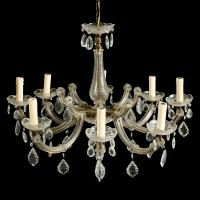 Early 20th Century 8 Branch Chandelier (2 of 8)