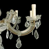 Early 20th Century 8 Branch Chandelier (5 of 8)