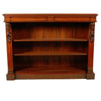Pair of Victorian Open Bookcases (3 of 8)
