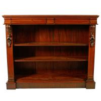 Pair of Victorian Open Bookcases (4 of 8)