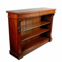 Pair of Victorian Open Bookcases (7 of 8)
