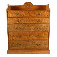 Magnificent Pitch Pine Chest by Robson & Sons Newcastle (2 of 8)