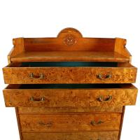 Magnificent Pitch Pine Chest by Robson & Sons Newcastle (3 of 8)