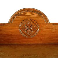 Magnificent Pitch Pine Chest by Robson & Sons Newcastle (8 of 8)