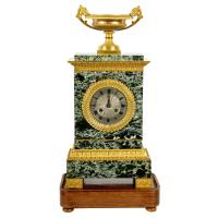 French Empire Marble & Ormolu Clock (2 of 11)