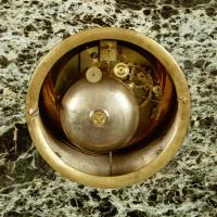 French Empire Marble & Ormolu Clock (6 of 11)