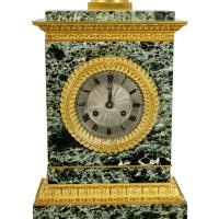 French Empire Marble & Ormolu Clock (3 of 11)
