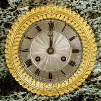 French Empire Marble & Ormolu Clock (4 of 11)