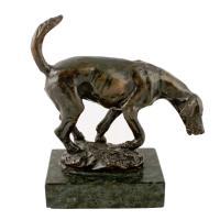 Bronze Figure of a Hound c.1900 (2 of 7)