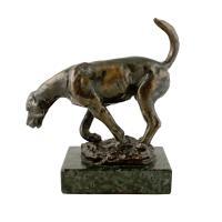 Bronze Figure of a Hound c.1900 (3 of 7)