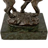 Bronze Figure of a Hound c.1900 (6 of 7)