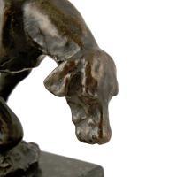 Bronze Figure of a Hound c.1900 (5 of 7)