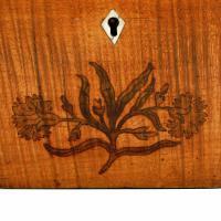 18th Century Satinwood Tea Caddy (7 of 8)