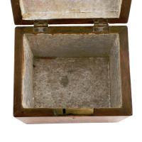 18th Century Satinwood Tea Caddy (5 of 8)