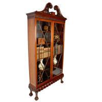Irish Chippendale Style Cabinet