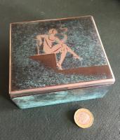 Wmf Ikora Cigarette Box C,1930