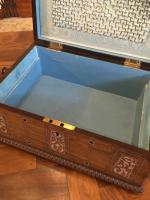 Rosewood Jewellery Box c.1890 (5 of 8)
