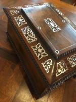Rosewood Jewellery Box c.1890 (6 of 8)