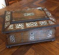 Rosewood Jewellery Box c.1890