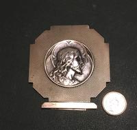 Face of Christ Medallion on Stand