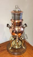 Copper Percolator Table Lamp