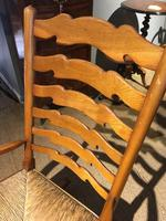 Country Ladder Back Rocking Chair (3 of 8)