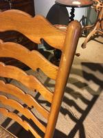 Country Ladder Back Rocking Chair (4 of 8)