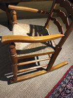 Country Ladder Back Rocking Chair (7 of 8)
