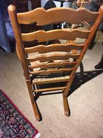 Country Ladder Back Rocking Chair (5 of 8)