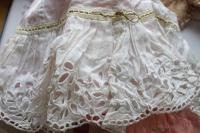 Rare Antique Apprentice Piece Costume Fabric Doll - All Hand Stitched (2 of 12)