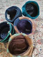 Ten True Vintage 1950s Straw, Velvet & Feather Trimmed Hats (2 of 8)