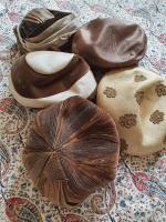Ten True Vintage 1950s Straw, Velvet & Feather Trimmed Hats (4 of 8)