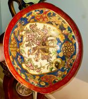 Superb Design & Colours Oriental Satsuma Large Bowl