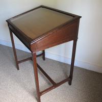 Oak Museum Cabinet C.1920 (3 of 5)