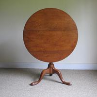Oak Tripod Table c.1790