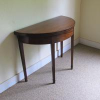 Mahogany Demi-Lune Tea Table c.1820 (6 of 6)