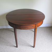 Mahogany Demi-Lune Tea Table c.1820 (5 of 6)