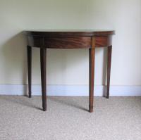 Mahogany Demi-Lune Tea Table c.1820 (2 of 6)