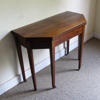 Mahogany Tea Table c.1790