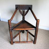 Oak Turners Chair c.1880 (2 of 5)