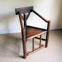 Oak Turners Chair c.1880 (3 of 5)