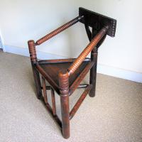 Oak Turners Chair c.1880 (4 of 5)