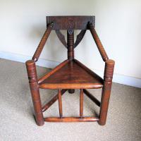 Oak Turners Chair c.1880 (2 of 5)