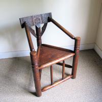 Oak Turners Chair c.1880 (3 of 5)