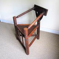 Oak Turners Chair c.1880 (5 of 5)