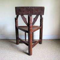 Oak Turners Chair c.1880 (4 of 5)
